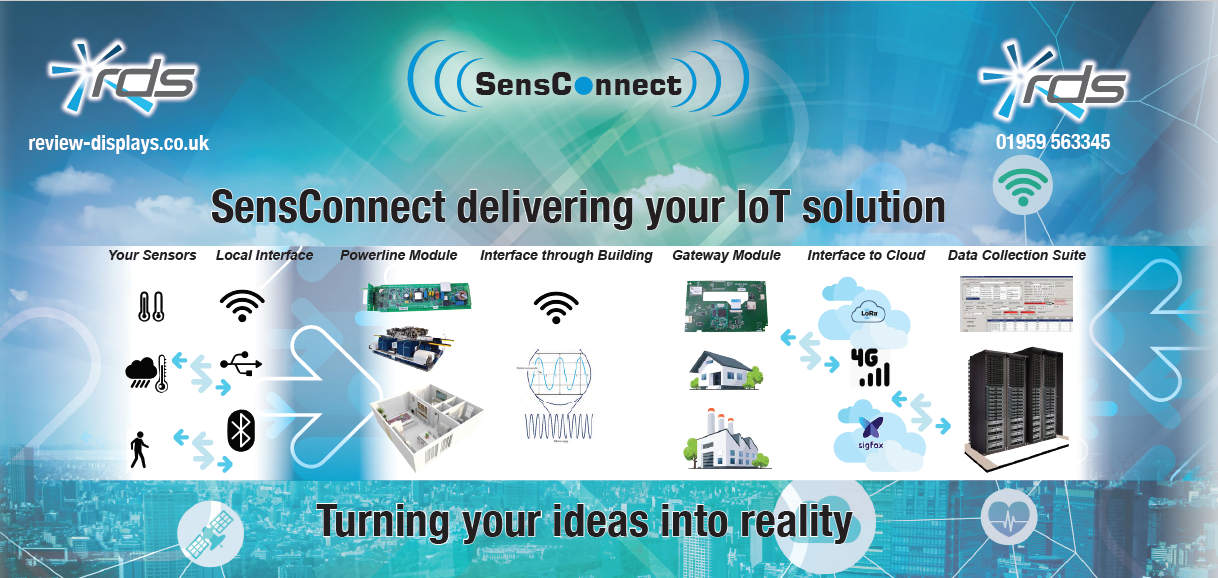 RDS announces SensConnect, an IoT based control suite article image